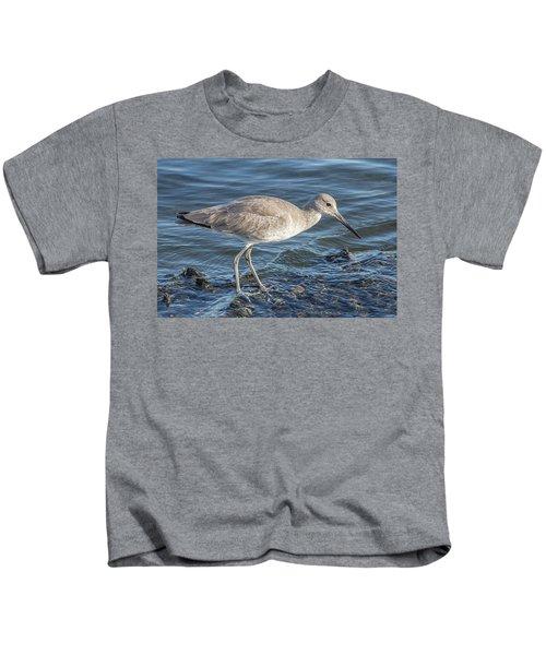 Willet In Winter Plumage Kids T-Shirt