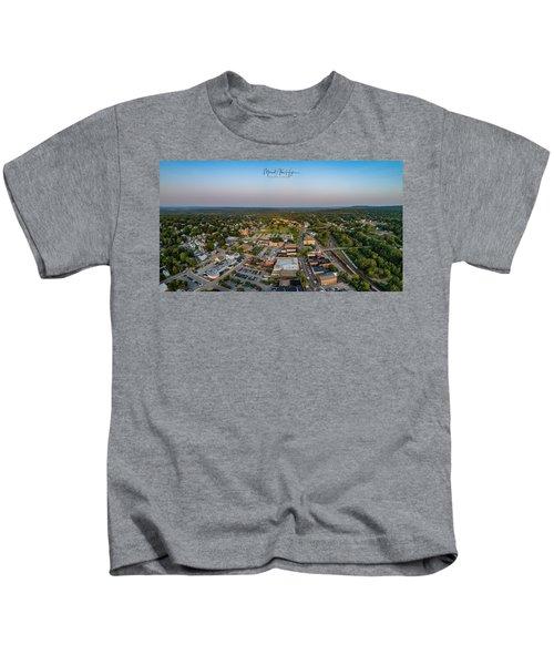 Willimantic Panorama Kids T-Shirt