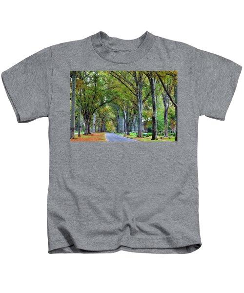 Willow Oak Trees Kids T-Shirt