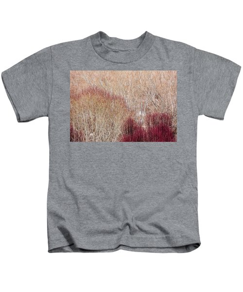 Willows In Winter Kids T-Shirt
