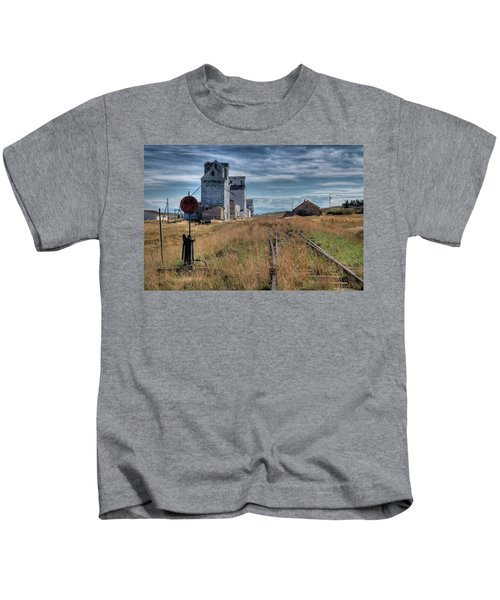 Wilsall Grain Elevators Kids T-Shirt