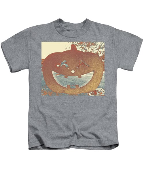 Window Pumpkin #1 Kids T-Shirt