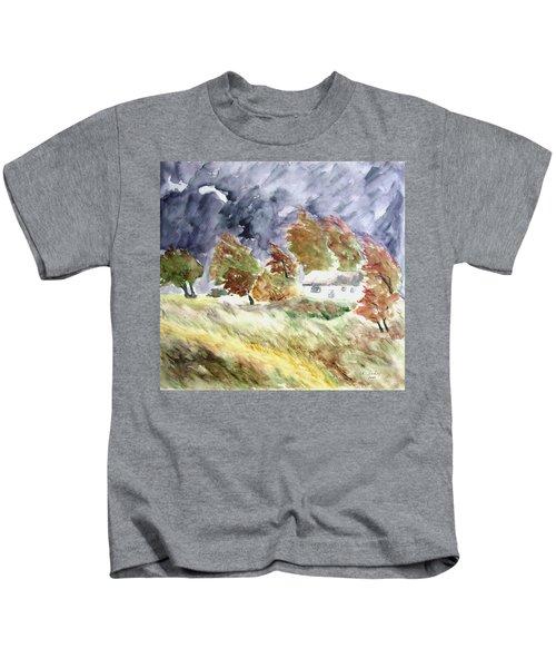 Windswept Landscape Kids T-Shirt