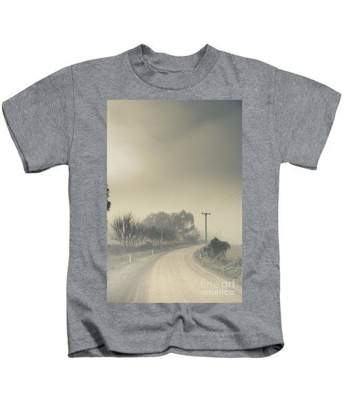 Windy Paths To Destinations Unknown Kids T-Shirt