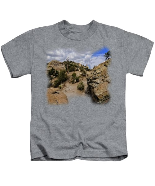 Windy Point No.13 Kids T-Shirt by Mark Myhaver