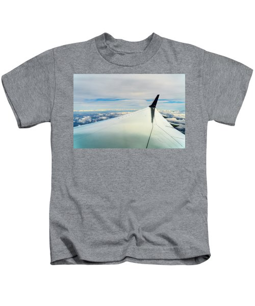 Wing And Clouds Kids T-Shirt