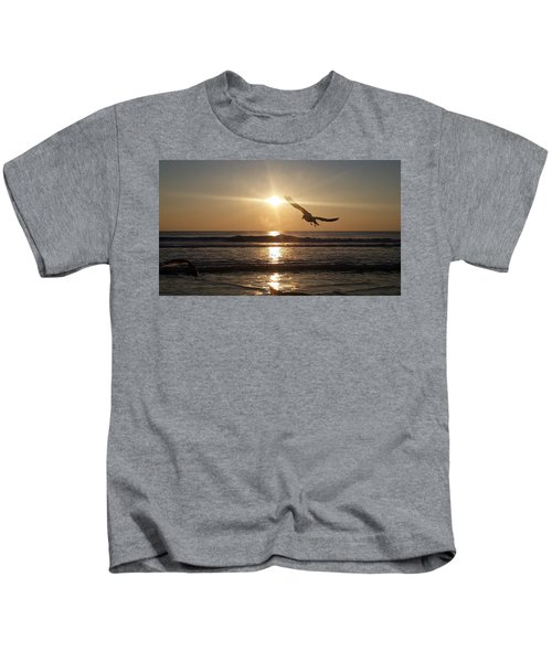 Wings Of Sunrise Kids T-Shirt