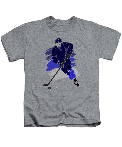 Winnipeg Jets Player Shirt Kids T-Shirt by Joe Hamilton