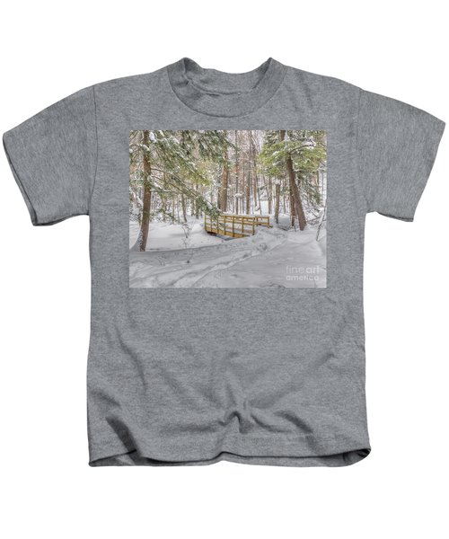 Winter Bridge Kids T-Shirt
