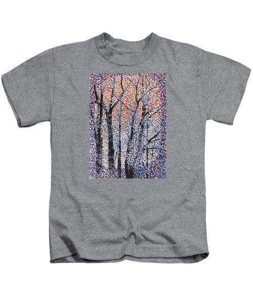 Winter Dawn  Kids T-Shirt