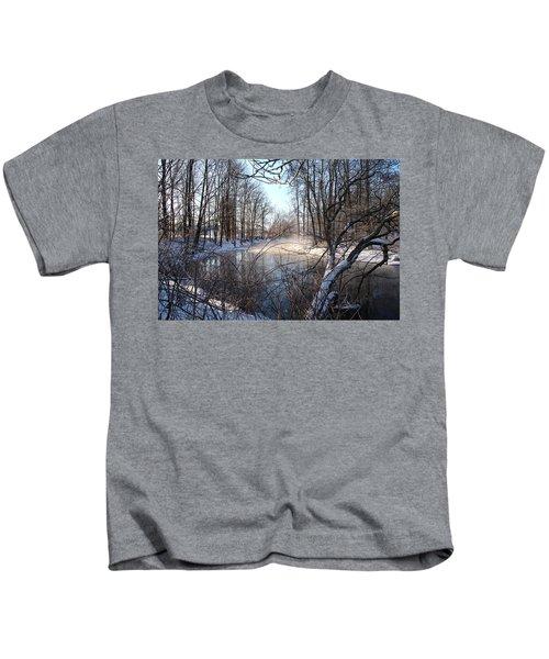 Winter Frost Kids T-Shirt