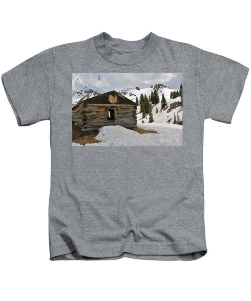 Winter In Mayflower Gulch Kids T-Shirt