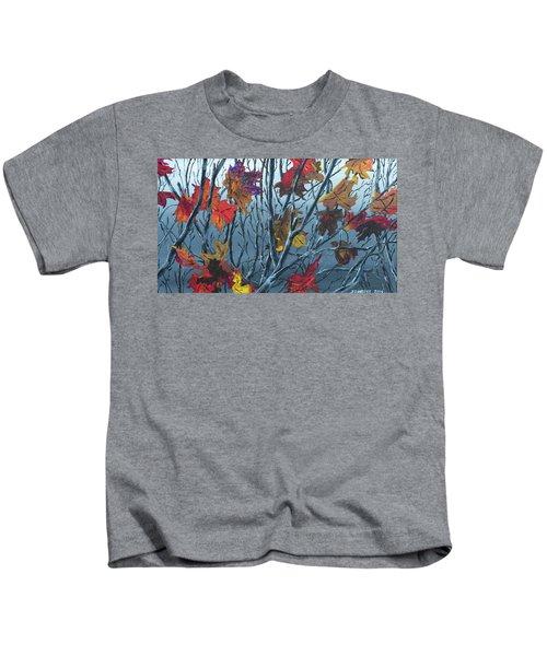 Winter Maple Kids T-Shirt