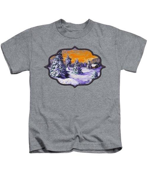 Winter Outlook Kids T-Shirt