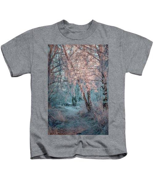 Winter Path #h1 Kids T-Shirt