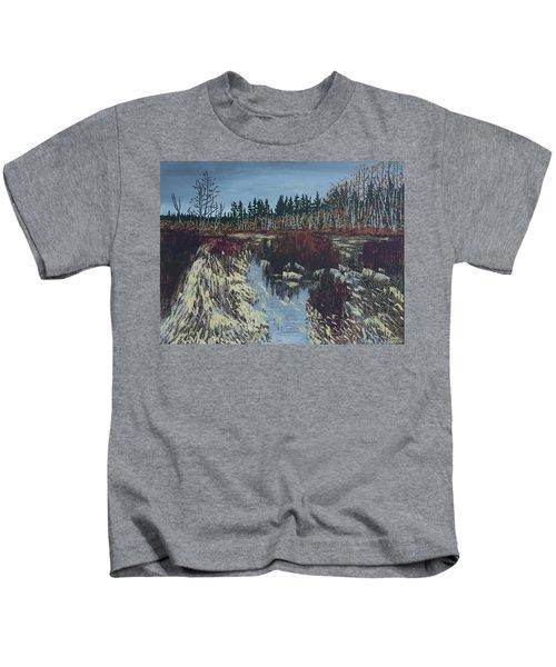 Winter River Kids T-Shirt
