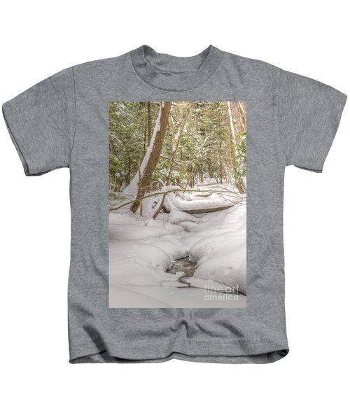 Winter Serenity Kids T-Shirt