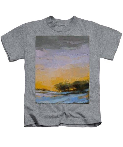 Winter Sky Kids T-Shirt