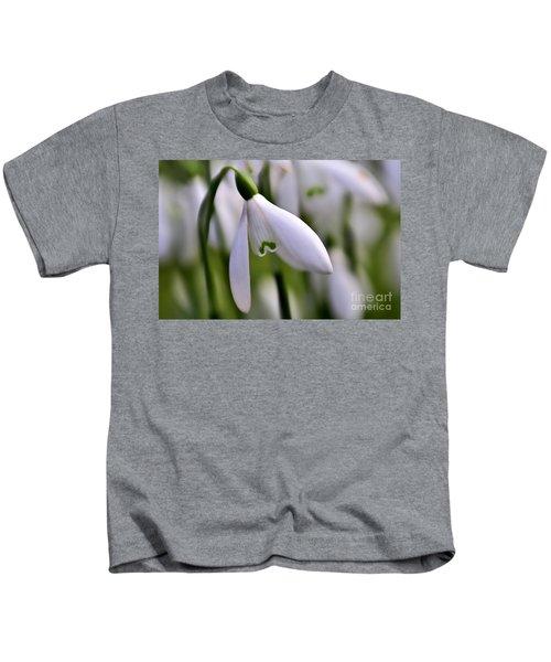 Winter Snowdrop Kids T-Shirt