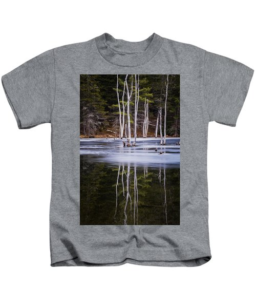 Winter Thaw Relections Kids T-Shirt