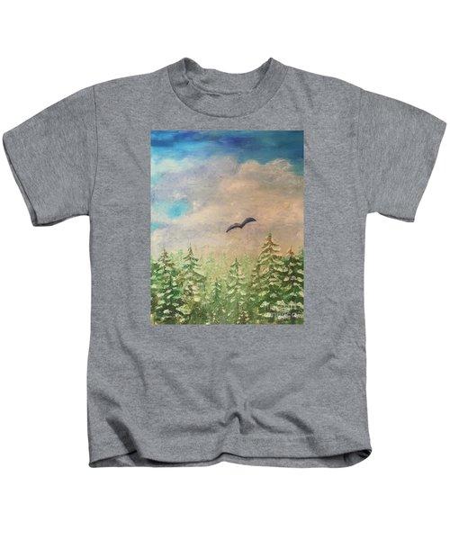 Winter To Spring Kids T-Shirt