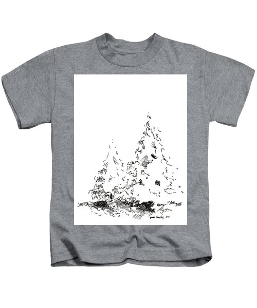 Winter Trees 1 - 2016 Kids T-Shirt