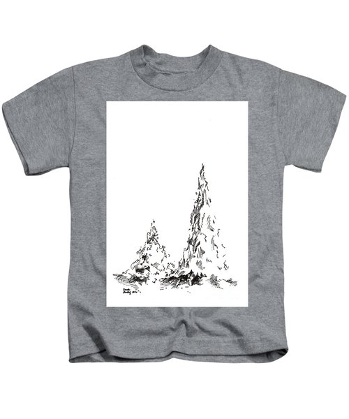 Winter Trees 2 - 2016 Kids T-Shirt