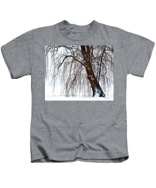Winter Willow Kids T-Shirt