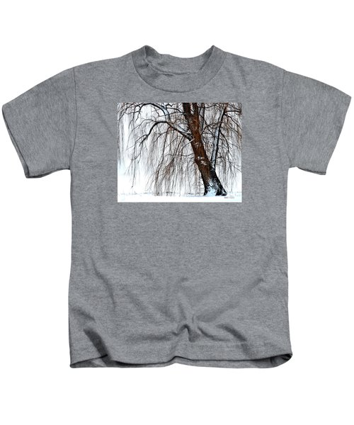 Winter Willow Kids T-Shirt