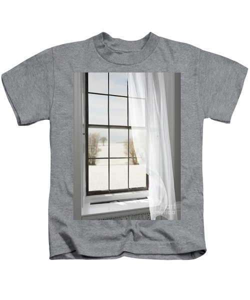 Winter Window Kids T-Shirt