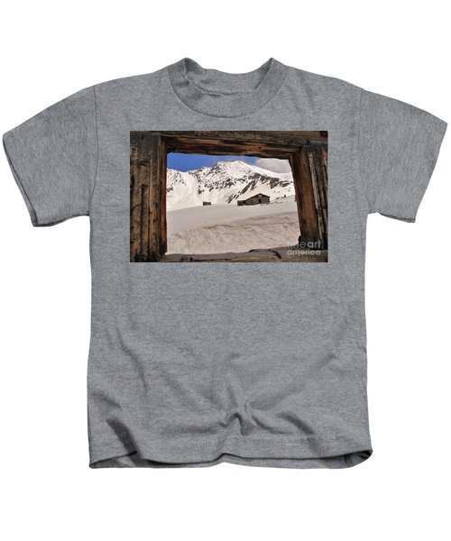 Winter Window View 2 Kids T-Shirt