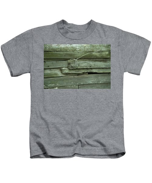 Wired House Siding Kids T-Shirt