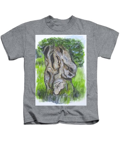 Wisdom Olive Tree Kids T-Shirt