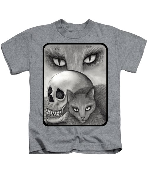 Witch's Cat Eyes Kids T-Shirt
