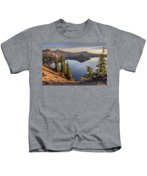 Wizard Island Beauty Kids T-Shirt