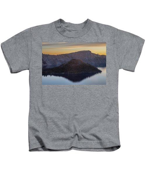 Wizard Island Morning Kids T-Shirt