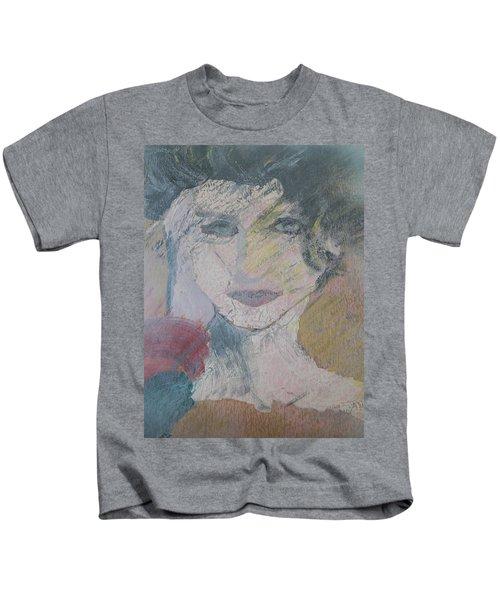 Woman's Portrait - Untitled Kids T-Shirt