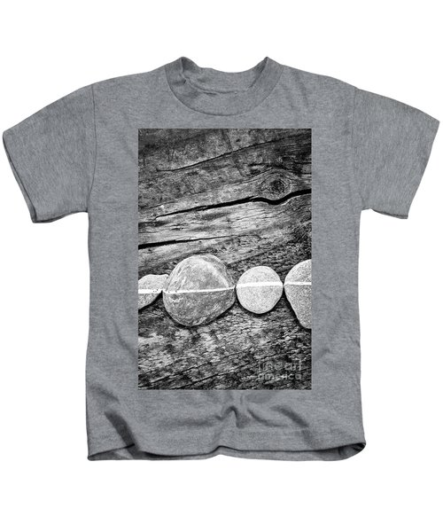 Wood And Stones - Vertical Kids T-Shirt