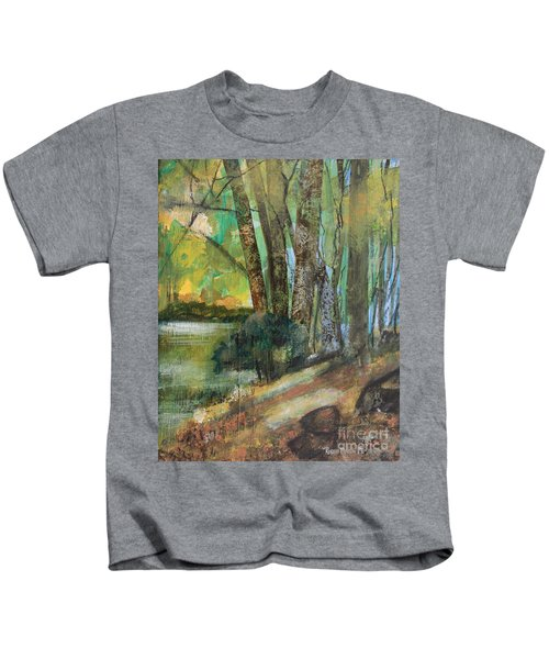 Woods In The Afternoon Kids T-Shirt