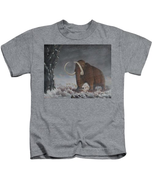 Wooly Mammoth......10,000 Years Ago Kids T-Shirt