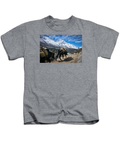 Working Yaks Kids T-Shirt