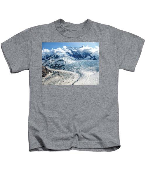 Wrangell Alaska Glacier Kids T-Shirt