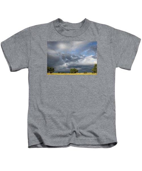 Wyoming Sky Kids T-Shirt