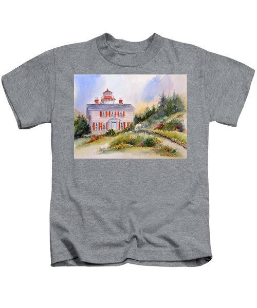 Yaquina Bay Light Kids T-Shirt