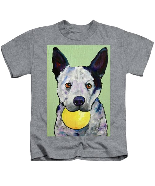 Yellow Ball Kids T-Shirt