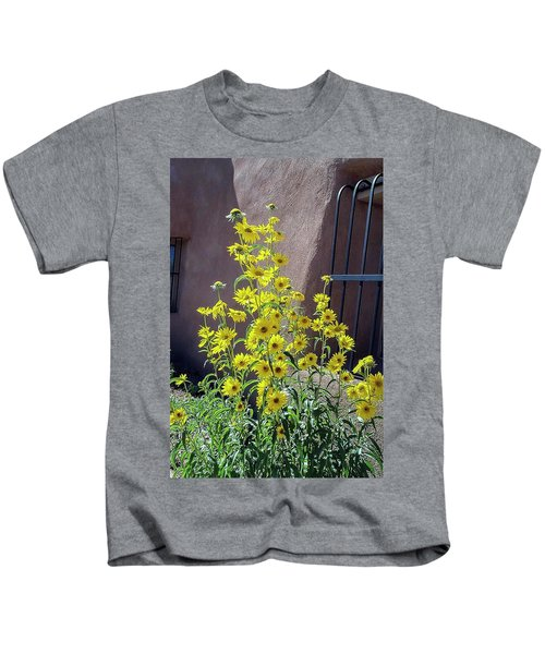 Yellow Composites At Ghost Ranch  Kids T-Shirt