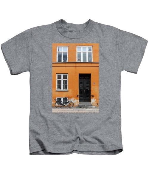 The Orange House Copenhagen Denmark Kids T-Shirt