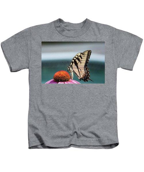 Yellow Swallowtail II Kids T-Shirt