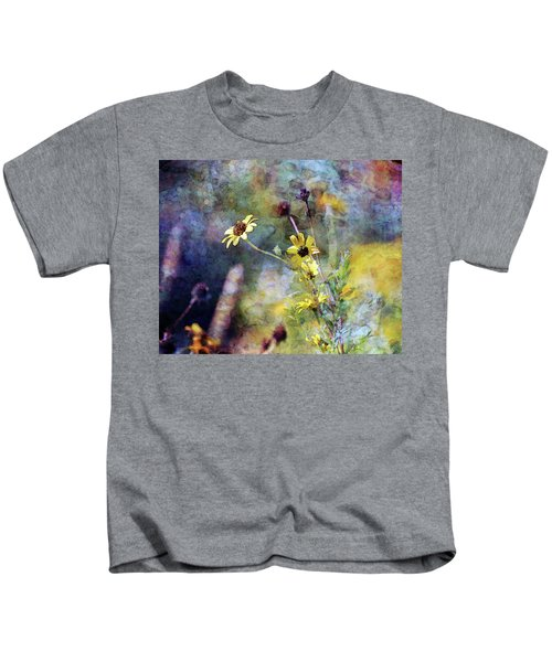 Yellow Wildflowers 3230 Idp_2 Kids T-Shirt