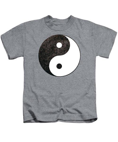 Yin Yang Symbol Kids T-Shirt